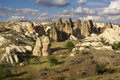 Cappadocia turkey in central anatolia in in summer day Royalty Free Stock Photo