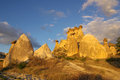 Cappadocia turkey in central anatolia in in summer day Stock Photos