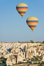 Cappadocia turkey hot air balloons at Stock Images