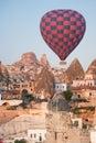 Cappadocia turkey hot air balloons at Royalty Free Stock Photography