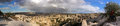 Cappadocia turkey panoramic photo this beautiful and fabulous word is the region in the central part of on the anatolian plateau Royalty Free Stock Image