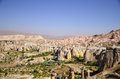Cappadocia turkey photo of valley Stock Photos