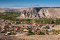 Cappadocia turkey rock beautiful ancient stone landscape Royalty Free Stock Photo