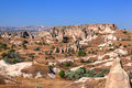 Cappadocia, Turkey. Urgup Fairy Chimneys Royalty Free Stock Photo