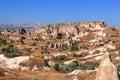 Cappadocia, Turkey. Urgup Fairy Chimneys Royalty Free Stock Photo