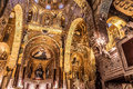 Cappella palatina sicily palermo italy june interior shot of the famous in on june in the palazzo reale in palermo in Royalty Free Stock Photos