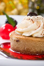 Cappuccino Cheesecake Royalty Free Stock Image