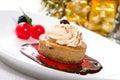 Cappuccino Cheesecake Stock Photos