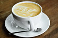 Cappucino coffee cup Royalty Free Stock Photo