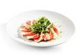 Caprese met rocket salad Stock Foto's