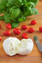Caprese salad ingredients basic for Stock Photos