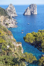 Capri island, Campania region, Italy Royalty Free Stock Photo