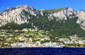 Capri island italy europe luxurious touristic destinationin Royalty Free Stock Photo