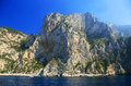 Capri island italy europe luxurious touristic destinationin Royalty Free Stock Images