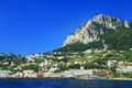 Capri island italy europe luxurious touristic destinationin Royalty Free Stock Photography