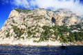 Capri island italy europe luxurious touristic destinationin Royalty Free Stock Image