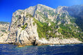 Capri island italy europe luxurious touristic destinationin Stock Images