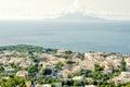Capri italy island town Stock Photo