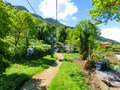 Capri, Italy - May 04, 2014: Cableway at island on a beautiful sunny day Royalty Free Stock Photo