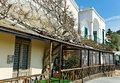 Capri street in a spring season Royalty Free Stock Photography