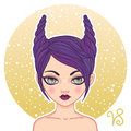 Capricorn zodiac sign Royalty Free Stock Photo