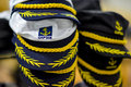 Caps sailors Royalty Free Stock Photo