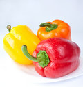 Capsicum. sweet peppers Royalty Free Stock Photography