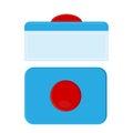 Capsule for dishwasher safe. washing tablets