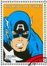 Captain America Royalty Free Stock Photo