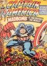 Captain America, original comic book cover