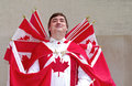 Captain Canada Royalty Free Stock Photo