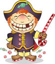 Captain Candy Pirate Royalty Free Stock Photography