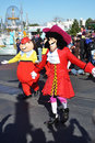 Captain Hook in A Dream Come True Celebrate Parade Royalty Free Stock Photos