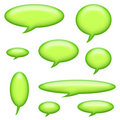 Captions and Speech Bubbles Royalty Free Stock Photo