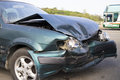 Car accident for insurance concept old Stock Photography