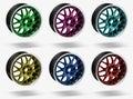 Car alloy rims Royalty Free Stock Photo