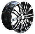 Car alloy wheel Stock Photo