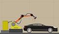 Car assembly illustration