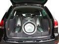 Car audio system Royalty Free Stock Photos