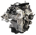 Car Auto Engine Motor Cutout Isolated