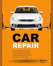 Car auto repair lift