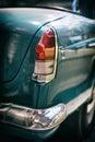 Car backlight. Royalty Free Stock Photo