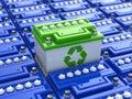 Car Battery Recycling. Green E...