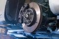 Car brake disc Royalty Free Stock Photo
