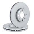 Car brake discs Royalty Free Stock Photo