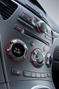 Car central panel Royalty Free Stock Images