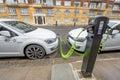 Car charging Royalty Free Stock Photo