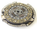 Car clutch isolated spare parts of motor vehicle forming Royalty Free Stock Photo