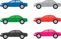 Car Colors Royalty Free Stock Photos