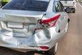 Car crash accident Royalty Free Stock Photo